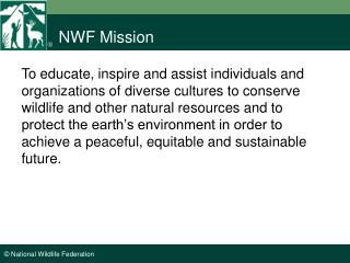 NWF Mission