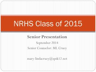 NRHS Class of 2015