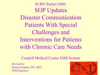Condell Medical Center EMS System