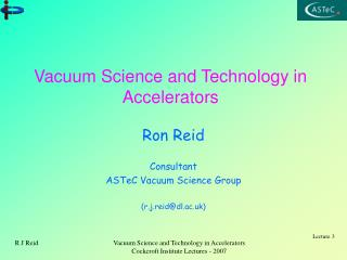 Vacuum Science and Technology in Accelerators