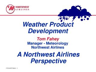 Weather Product Development