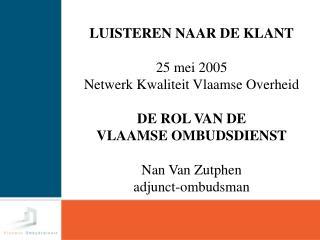 2 De Vlaamse Ombudsdienst