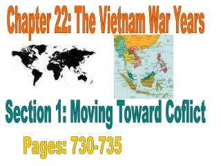 Chapter 22: The Vietnam War Years