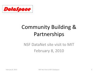 Community Building & Partnerships
