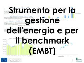 Strumento per la gestione dell'energia e per il  benchmark  (EMBT)