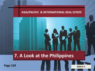 7. A Look at the Philippines