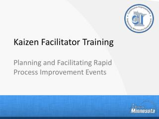 Kaizen Facilitator Training