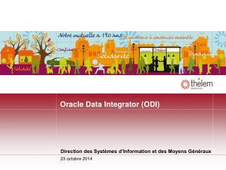 Oracle Data Integrator (ODI)