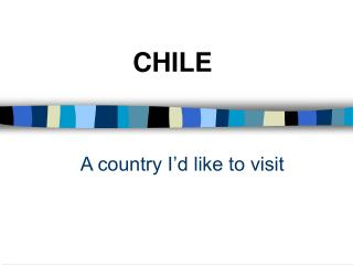 A country I'd like to visit