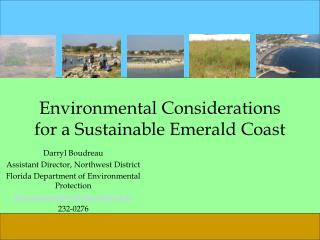 Environmental Considerations for a Sustainable Emerald Coast