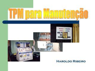 TPM para Manutenção