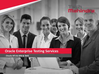 Oracle Enterprise Testing Services