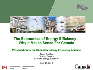 The Economics of Energy Efficiency –  Why It Makes Sense For Canada