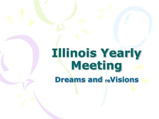Illinois Yearly Meeting