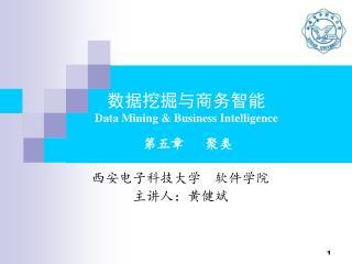 数据挖掘与商务智能 Data Mining & Business Intelligence