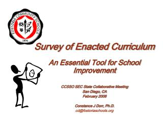 Survey of Enacted Curriculum An Essential Tool for School Improvement