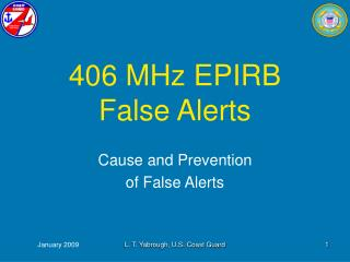 406 MHz EPIRB  False Alerts