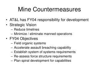 Mine Countermeasures
