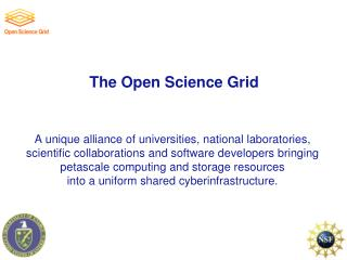 The Open Science Grid
