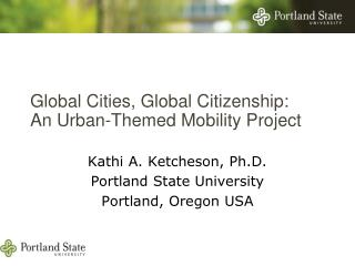 Global Cities, Global Citizenship:  An Urban-Themed Mobility Project