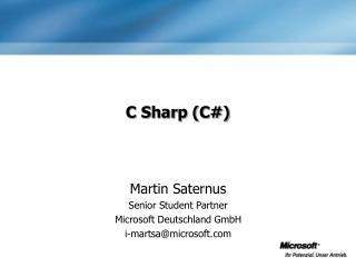 C Sharp C