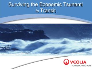 Surviving the Economic Tsunami in  Transit