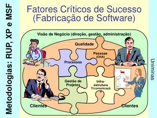 Fatores Críticos de Sucesso (Fabricação de Software)