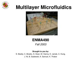 Multilayer Microfluidics