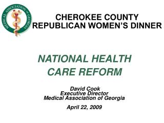CHEROKEE COUNTY REPUBLICAN WOMEN'S DINNER