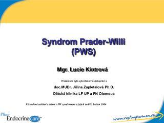 Syndrom Prader-Willi (PWS)