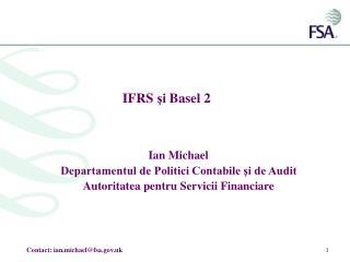 IFRS  şi  Basel 2