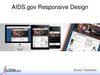 AIDS  Responsive Design