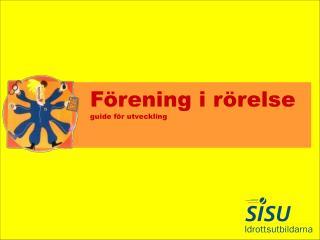 Förening i rörelse guide för utveckling