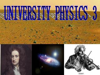 UNIVERSITY PHYSICS 3