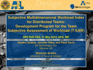 Subjective Multidimensional Workload Index for Distributed Teams: