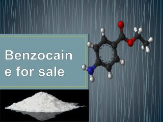 Benzocaine for sale