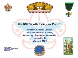 BS-208 Youth Religious Knot