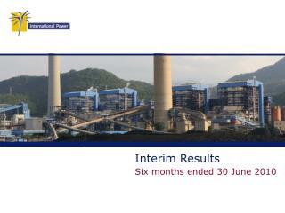 Interim Results