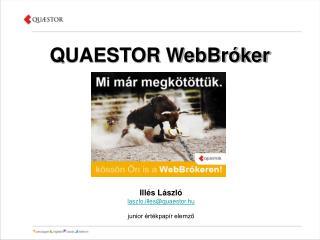 QUAESTOR WebBr ker