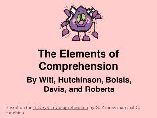 The Elements of Comprehension