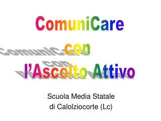 Scuola Media Statale di Calolziocorte (Lc)