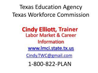Cindy Elliott , Trainer