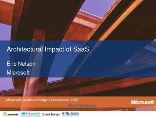 Architectural Impact of SaaS