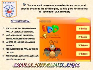 INTRODUCCIÓN.: FORTALEZAS  DEL PROGRAMA LEM PARA LA LECTURA Y ESCRITURA.