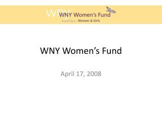 WNY Women s Fund
