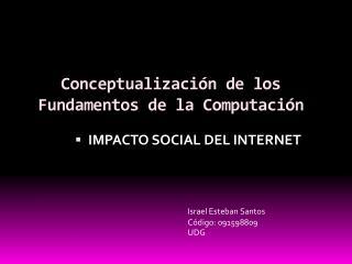Conceptualización de los Fundamentos de la Computación