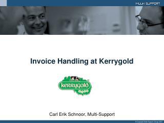 Invoice Handling at Kerrygold