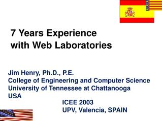 7 Years Experience  with Web Laboratories