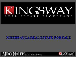 Mississauga Real Estate for Sale