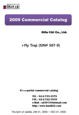 2009 Commercial Catalog